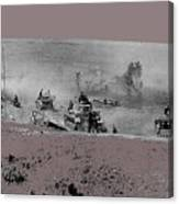 12th Panzer Division On The Move To Stalingrad August 1942 Color Added 2016 Canvas Print