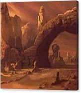 A Star Wars Art Canvas Print