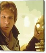 A Star Wars Poster Canvas Print