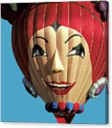 Carmen Miranda Balloon In Albuquerque Canvas Print
