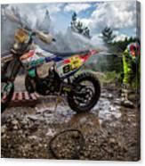 Enduro Race  Canvas Print