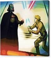 Galaxies Star Wars Art Canvas Print