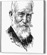 George Bernard Shaw Canvas Print