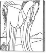 Homer: The Iliad Canvas Print