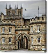 Lincoln England United Kingdom Uk Canvas Print