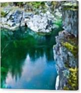 R G Landscape Canvas Print