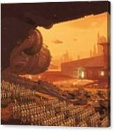 Saga Star Wars Poster Canvas Print