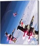 Star Wars Episode 5 Art Canvas Print