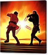 Star Wars Old Art Canvas Print