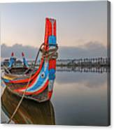 U Bein Bridge - Myanmar Canvas Print
