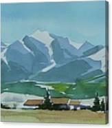 Watercolor Canvas Print
