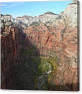 Zion National Park In Autumn Canvas Print