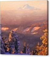 Oil Paintings Art Landscape Nature Canvas Print