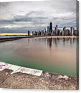 1323 A View From The Breakwall Canvas Print