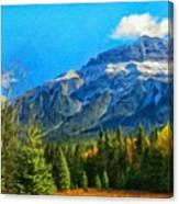 Nature Landscape Painting Canvas Print