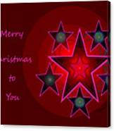 1339 Merry Christmas To You 2018 Canvas Print