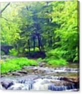 Nature Landscape Artwork Canvas Print