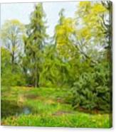 Landscape Nature Pictures Canvas Print