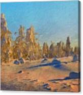 Landscape Painted Canvas Print