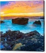 Oil Painting Landscape Pictures Canvas Print