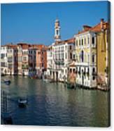 1399 Venice Grand Canal Canvas Print
