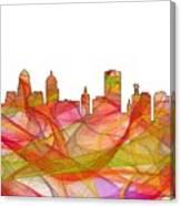 Buffalo New York Skyline Canvas Print