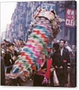 Chinese New Year 1963 Canvas Print