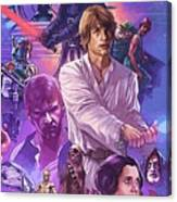 Episode 1 Star Wars Poster Canvas Print