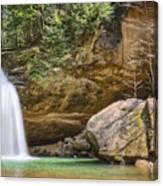 Hocking Hills Waterfall Canvas Print