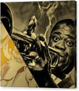 Louis Armstrong Collection Canvas Print