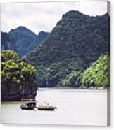 Picturesque Sea Landscape. Ha Long Bay, Vietnam Canvas Print