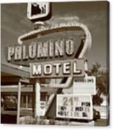 Route 66 - Tucumcari New Mexico Canvas Print
