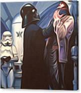 Star Wars Episode 6 Art Canvas Print