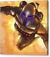 Star Wars On Poster Canvas Print