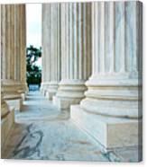 Supreme Court Building Washington Dc Canvas Print