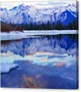 Landscape Paintings Nature Canvas Print