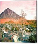 Oil Painting Landscape Pictures Canvas Print