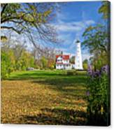 1406 North Point Lighthouse Canvas Print