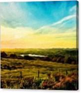 Nature Original Landscape Painting Canvas Print