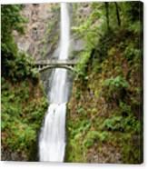 1416 Multnomah Falls Canvas Print