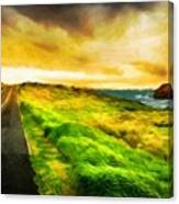 Landscape On Nature Canvas Print
