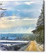 Nature Landscape Jobs Canvas Print