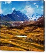 Painting Landscape Canvas Print