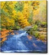 Nature Painted Landscape Canvas Print
