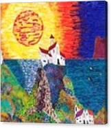 15-23  Village Paradise Canvas Print