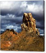 Capitol Reef National Park Catherdal Valley Canvas Print