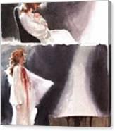 dracula John J Muth Canvas Print