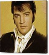 Elvis Presley, Rock And Roll Legend Canvas Print