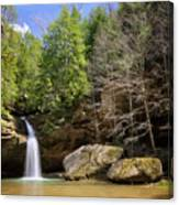Hocking Hills Waterfall Canvas Print