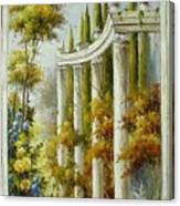 Italian Historical Villas Canvas Print